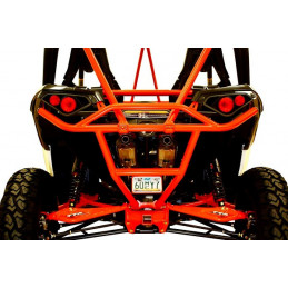 Can-Am maverick non-turbo 13-17 bumper arrière rouge
