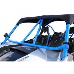 Can-Am maverick non-turbo 13-17 renfort arceau avant bleu