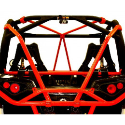 Renfort arceau Dragonfire arrière rouge  Can-Am Maverick non-turbo 2013-2017