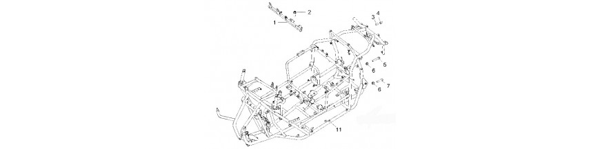 Pieces chassis